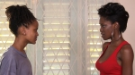 Lisa (Christina Gonzalez) and Vicki (Racquel Jones) face off